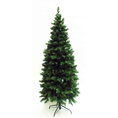 10' Slim Pre-Lit Greenwood Tree Artificial