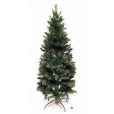 Slim Pre-Lit Avon Pine Tree Silk