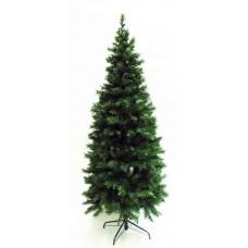 9' Slim Pre-Lit Greenwood Tree Artificial