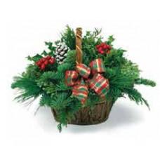 Office Christmas Basket