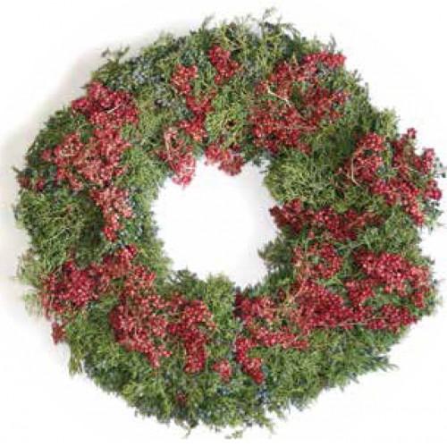 Juniper-Pepperberry Christmas Wreath