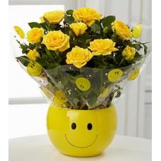 Yellowish Miniature Roses