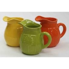 Ceramicn Daisy Pitcher