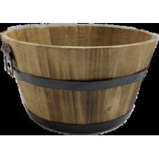 Round Wood Baskets