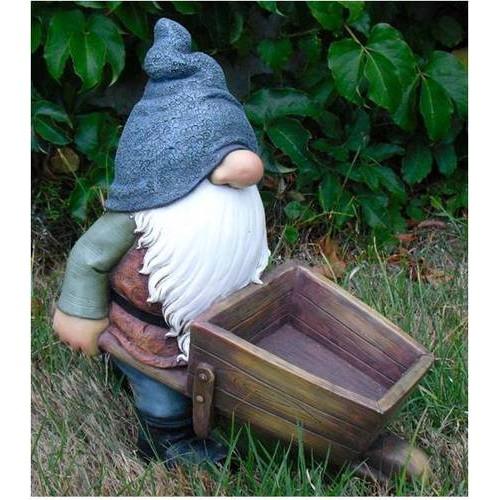 Gnome with a Wheelbarrow