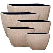 Fiberstone Beige Sandstone - Planters