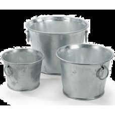 Round Galvanized Buckets