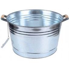 Galvanized round bucket