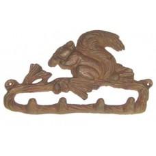 Cast Iron Squirrel hooks