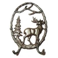 Cast Iron Elk Hook