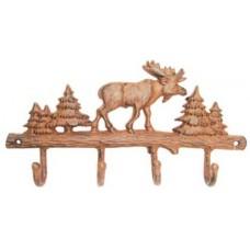 Cast Iron moose hooks