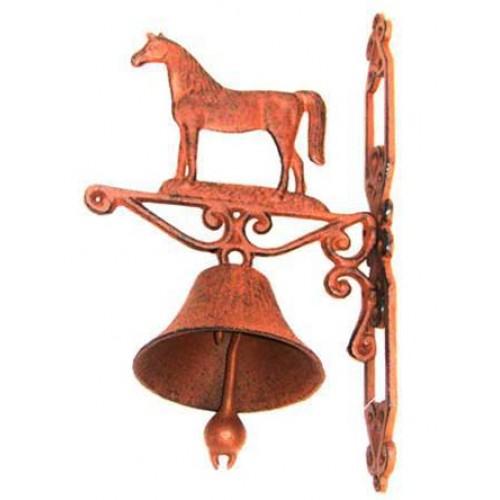 Cast Iron Horse Door Bell