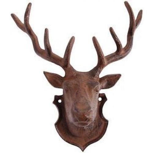 Cast Iron Deer Head