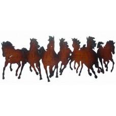 Metal horses wall Decor
