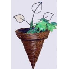 Willow cone planter