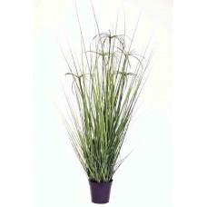 """42"""" Grass Pot - Silk"""
