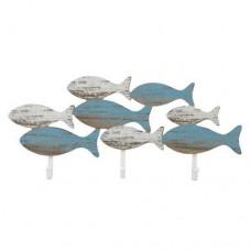 Fish wall hooks