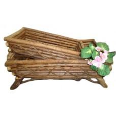 Natural Twig rectangular Planters