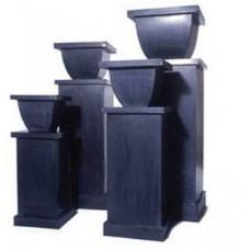 Black Zinc pedestals