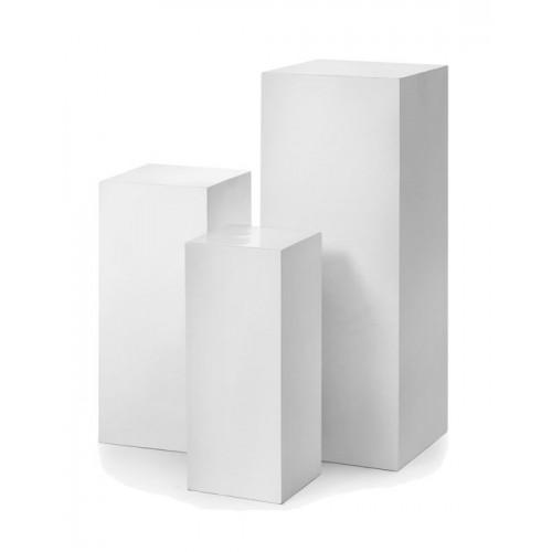 Rachel Pedestal - White